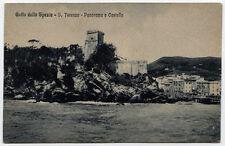 cartolina LA SPEZIA golfo di..s.terenzo-panorama e castello