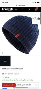 Rab Beanie Hat, Dark Blue
