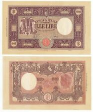 XT.021) ITALY 1000 lire 1943 / 11.08.1943 / large banknote / XF+