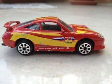 BURAGO PORSCHE 911 CARRERA 1:43 rosso modellino in scala-MADE IN ITALY