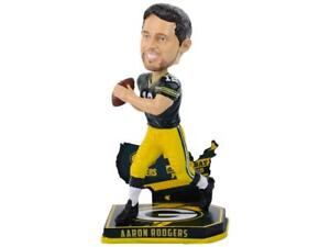 Aaron Rodgers Green Bay Packers Nation Bobblehead NFL USA Flag