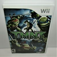 TMNT (Nintendo Wii, 2007) Complete Tested & Working
