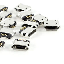 LC_ 20pc MICRO USB type B PRISE FEMELLE 5 broches SMD à souder 180 degree