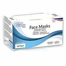 Medical Dental Earloop Face Mask ATSM Level 3 50/Box - Made in USA