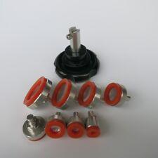 GF1029 Anti-Scratch Rubber Watch Repair Case Opener 8PCS For Screw Back Cover