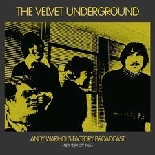 THE VELVET UNDERGROUND Andy Warhol's Factory Broadcast New York City 1966 2LP