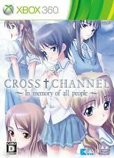 CROSS CHANNEL In memory of all people 360 Cyberfront Microsoft Xbox 360 Japan