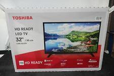 "TOSHIBA 32WL2A63DB 32"" Smart HD Ready LED TV HEAVY DAMAGED BOX"