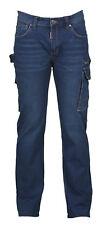 Payper WEST Pantalone da Uomo Jeans Denim Porta Metro Smartphone Martello Lavoro