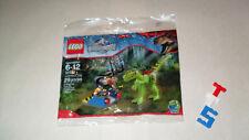 Retired New Sealed Polybag LEGO 30320 Jurassic World Gallimimus Trap Dinosaur