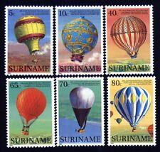 Suriname 11052/57 Ballon postfrisch