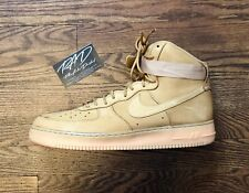 outlet store 2b50c 05fa1 Nike Air Force 1 I One High 07 Flax LV8 Size 11 WHEAT GUM TAN (