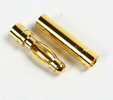 20 Sets x 4mm 4.0mm Gold Bullet Connector Plug for RC Battery ESC Motor