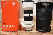 New listing Sony 70-200mm F/4Gm Oss Fe E Mount