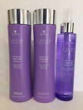 New: Alterna Caviar Multiplying  Volume Shampoo/Conditioner/Styling Mist trio