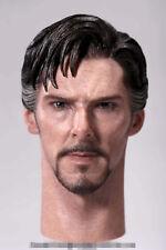 1:6 Scale Doctor Strange Benedict Cumberbatch Head Sculpt Fit 12'' Male Figures