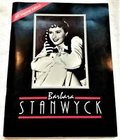Limited Edition Barbara Stanwyck Lifetime Achievement Award Tribute