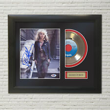 "Blondie ""Rapture"" Framed Reproduction Signature 45 Record Display. ""M4"""