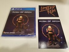Risk of Rain (PS4 Limited Run Games #58) W/ Cards and Protective Game Case