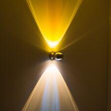 Design Büro Strahler Wand Leuchten Flur Lampe Linse Wohn Zimmer Gelb Up & Down