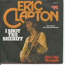 7'Eric Clapton >I shot the Sheriff/Give me Strength<  Germany 70's KULT!