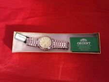 ORIENT MEN'S AUTOMATIC MECHANICAL CRYSTAL 21 JEWELS DATE/DAY NEW W/TAG NO BOX