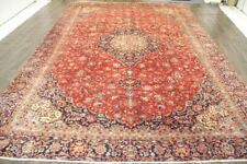 Traditional Retro Wool Oriental Office Rug Handmade Lounge Carpet 272 X 395 CM