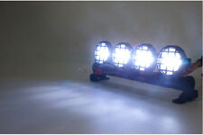 A White LED Spotlight Lights Bar f 1:10 Buggy Traxxas Monster Truck HSP RC Cars