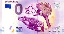 80 AMIENS Zoo, N° de la 4ème liasse, 2018, Billet 0 € Souvenir