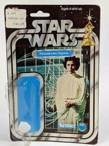 Kenner Star Wars SW Leia Organa 12 Back Card Original Bubble Package Backer