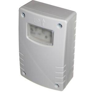 Outdoor Wall Mount Photocell Adjustable Timer or Dusk til Dawn For Floodlights