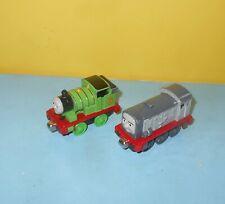 Thomas & Friends Take n Play Mattel Diecast Dennis & Percy Trains