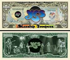 OUR YES BAND DOLLAR BILL (2 Bills)