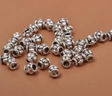 200pcs Tibetan silver small charms spacer beads bead 3mm