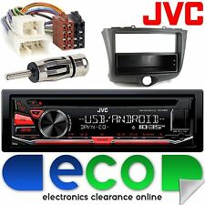 TOYOTA YARIS 2003 - 2006 JVC CD MP3 USB Aux Android Autoradio Stereo Kit di montaggio