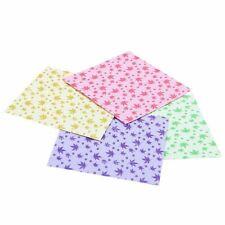 1X(150 Sheets Square Origami Paper Crane Folding DIY Craft Best Wish Gift Pa VC4