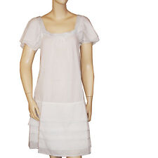 Robe voile blanche SUITE 17 femme