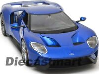 MAISTO 1:18 FORD GT 2017 CHICAGO AUTO SHOW DEBUT BLUE 31384 NEW