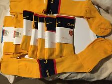 Nike EPL Arsenal Gunners Soccer Socks 287561-716 Unisex LARGE 8.5-12.5   $14.99