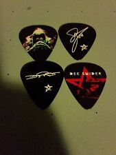 Dee Snider 4 Guitar Pick Picks Set Twisted Sister We Are The Ones
