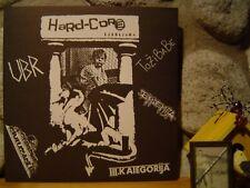 v/a HARD-CORE LJUBLJANA LP/1986 Yugoslavia/Slovenia/Raw Euro Punk/Thrash/KBD