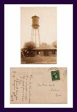 MICHIGAN MILAN WATER WORKS PESHA REAL PHOTO CIRCA 1910 TO FRED KOCH OF SALINE
