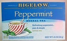 Bigelow Peppermint Herbal Tea America's Classic