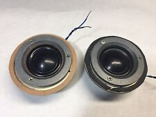 *RARE*  2 x KEF T15 / T-15 8 Ohm Dome Tweeters  *Tested, good working condition*
