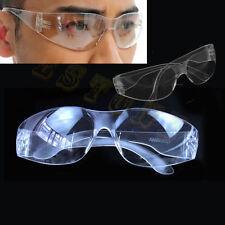 Lab Medical Clear Safety Eyes Protective Anti-fog Dust Goggles Eyewear Glasses