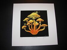 JAMES EADS Giclee Print FAMILY CAP Night Caps Mushroom poster art