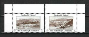 Palestinian Authority 1997 Sc#66-7  Historic Views  MNH Set $4.00