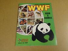 PANINI ALBUM / WWF BESCHERM DE DIERENWERELD