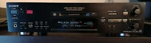 SONY Platine Minidisc MDS-JB940 QS UK Edition avec TélécommandeLP2 LP4