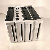 Lot of 4 Nintendo Wii Consoles RVL-001 GameCube Compatible For Parts Repair